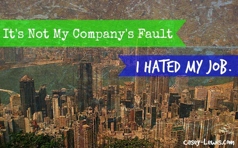 company's fault